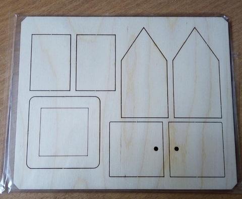 057-2916 Домик-конструктор маленький