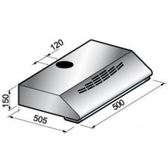 Вытяжка Korting KHT 5230 X схема