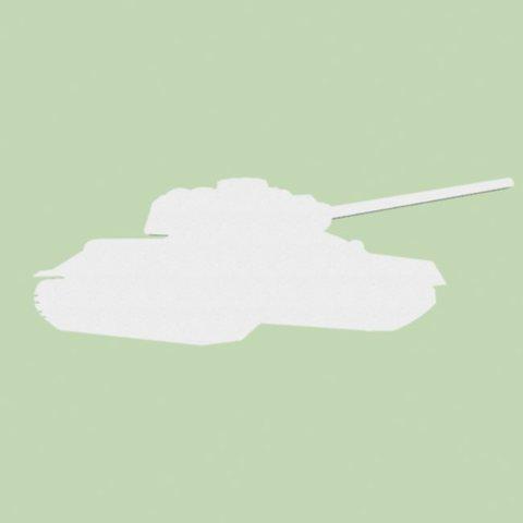 Танк из пенопласта Т-34