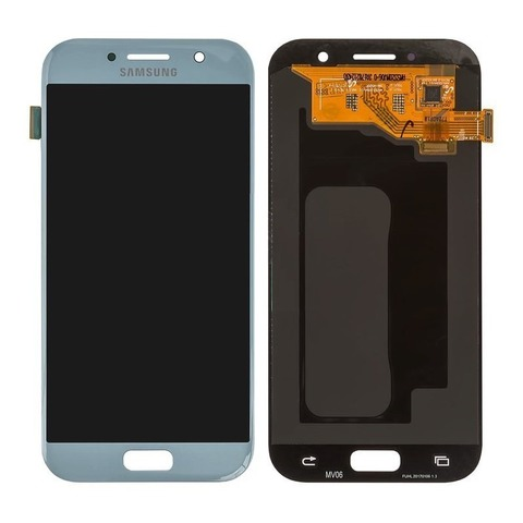 LCD SAMSUNG A7 2017 A720F + Touch Blue Orig
