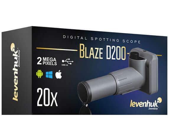 Коробка зрительной трубы Левенгук Blaze D200