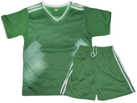 Форма футбольная. Цвет зелёный. Размер 50. Материал: полиэстер. F-MX-50# EU-44#
