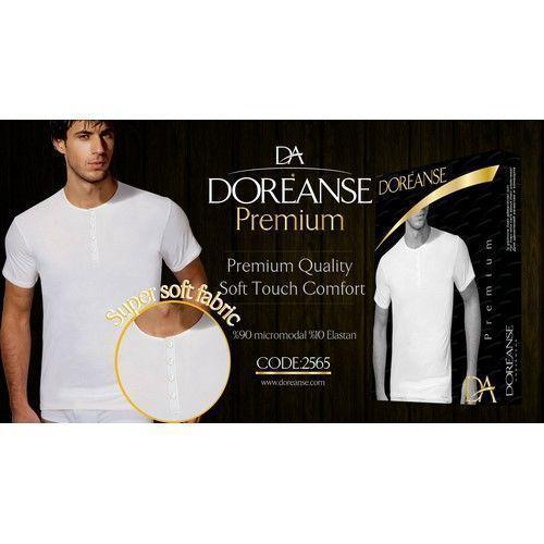 Мужская футболка белая Doreanse 2565