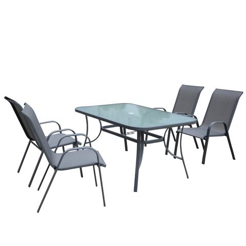 Комплект садовый KINGSTON (стол и 4 кресла)
