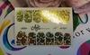 Фольга для дизайна ногтей цвет золото 58 купить за 120руб
