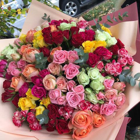 Кустовые (спрей) розы