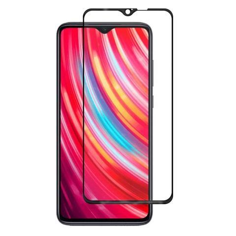 Защитное стекло 5D для Xiaomi Redmi Note 8 Pro, черное