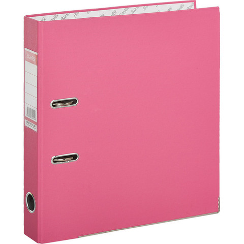 Папка-регистратор Bantex Economy Plus 50 мм розовая