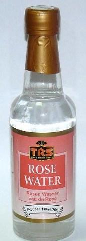Розовая вода (пищевая), стекло 190 мл TRS