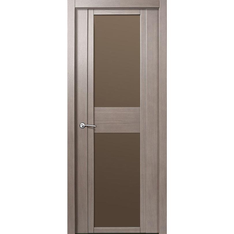 Шпонированные двери Межкомнатная дверь шпонированная Milyana QDO D дуб грейвуд стекло евробронза qdo-d-dub-greyvud-dvertsov.jpg