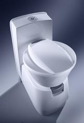 Купить туалет кассетный с емкостью Dometic CTW 4110 от производителя, недорого с доставкой.