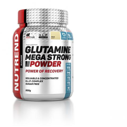 Nutrend Глютамин Мега стронг 500г/GLUTAMINE MEGA STRONG 500g (Груша)
