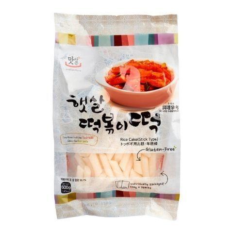 Рисовые клецки для токпокки Rice Cake Stick Type, 600 г купить в интернет-магазине kotelock.ru