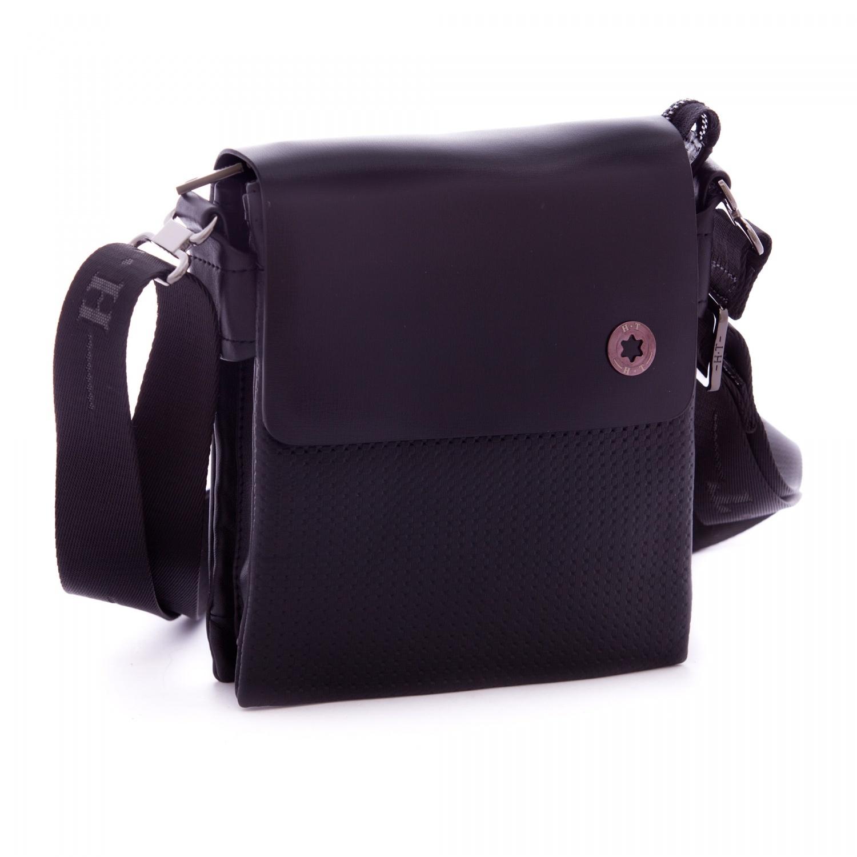 Кожаная мужская сумка через плечо HT 00137