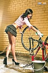 Мойка велосипеда 1