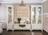 Шкаф-витрина ПАТРИСИЯ  2-х створчатая корень крем глянец