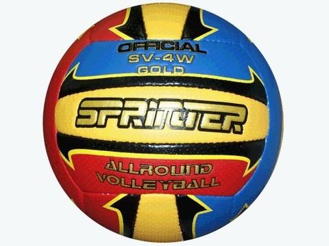 Мяч волейбольный SPRINTER. Материал: кожзамениталь, бутиловая камера. :(SV-4W GOLD):