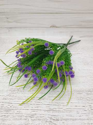 ОЛАМ Букет зелени с цветочками 5 веток
