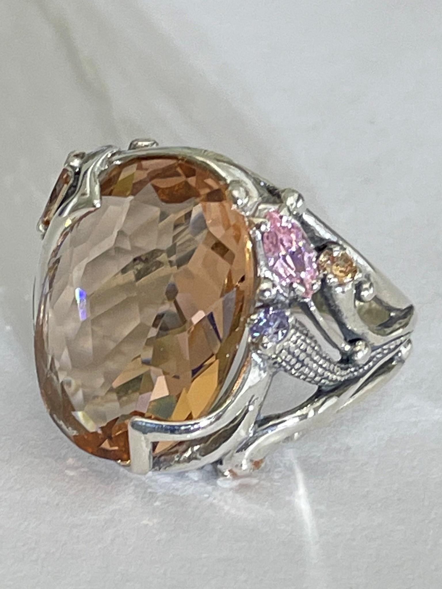 Илана  (кольцо из серебра)