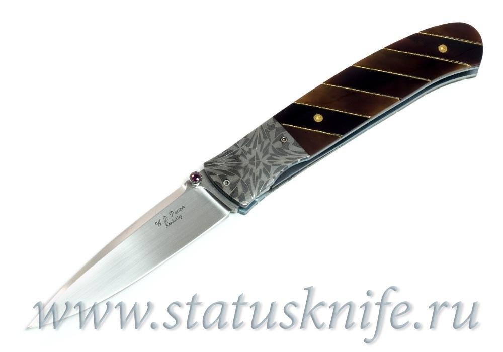 Нож William D. Pease Damascus Knife