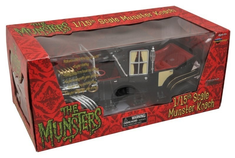 Munsters Koach 1/15 Scale Vehicle