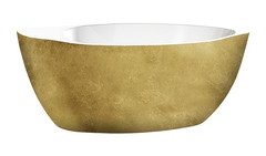 Акриловая ванна Lagard VERSA Treasure Gold 174х84 см