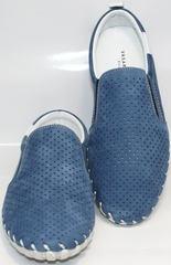 Туфли мокасины мужские Alvito 01-1308 92-86