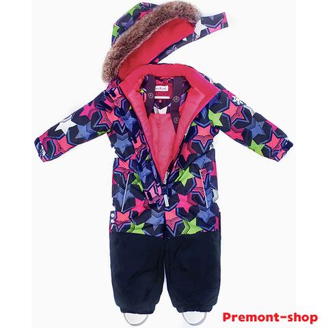 Комбинезон Premont для девочки Звезды Ориона WP91173 BLUE