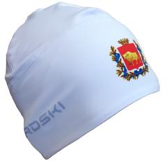 Шапочка для снежного снайпера белая с логотипом ГРОДНЕНСКАЯ ОБЛАСТЬ Nordski Warm white