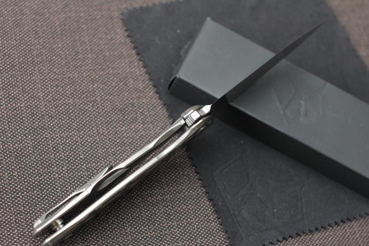 Нож Широгоров Флиппер 95 ELMAX - фотография