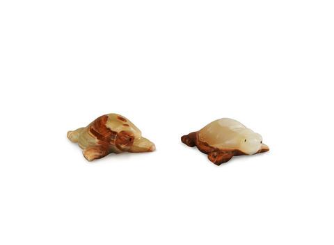 Черепаха из оникса большая (10х8х4 см). Интернет магазин чая