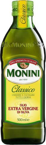 "Масло оливковое ""Monini"" Extra Virgin 0,5л"