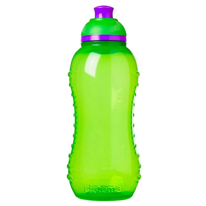 """Бутылка для воды Sistema """"Hydrate"""" 330  мл, цвет Зеленый"""