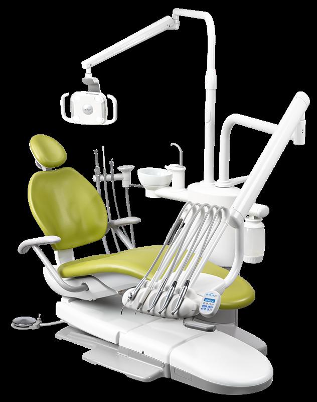 A-DEC 300 стоматологическая установка с верхней подачей инструментов