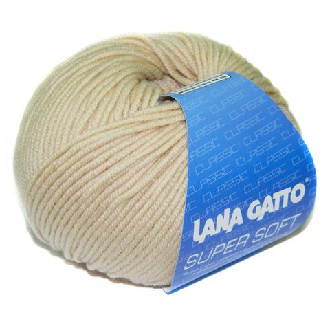 Пряжа Lana Gatto Supersoft 12530 светлый беж