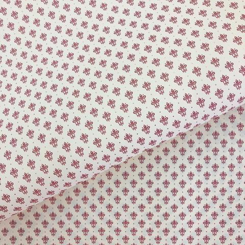 Бумага декоративная упаковочная Бордовые лилии