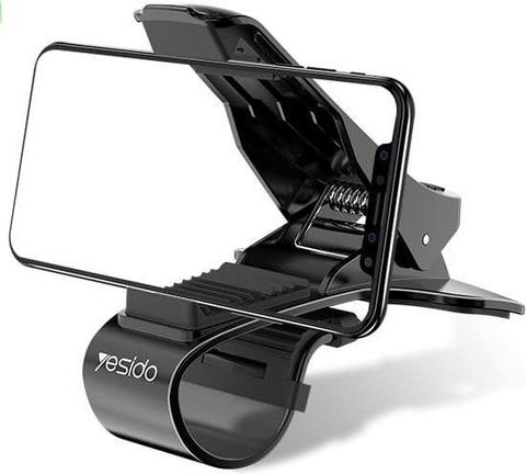 Автомобильный держатель Universal Clip carbon 3.75-7'' /black/