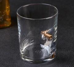 Набор из стакана с пулей + камни для виски «Военный», фото 3