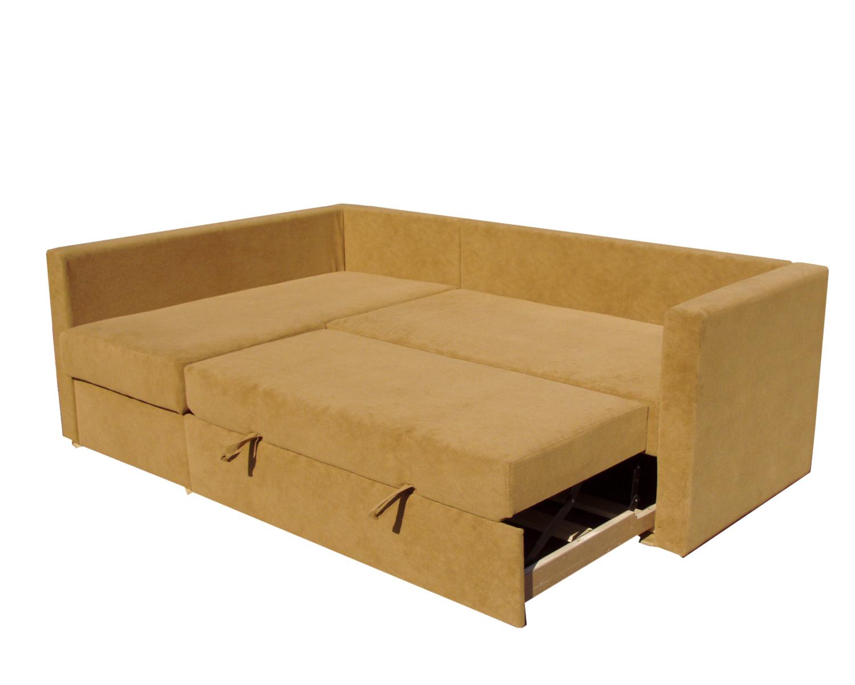 Угловой диван-кровать Карелия 2Я2д, механизм дельфин