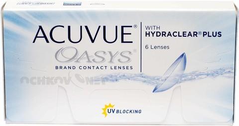 Acuvue Oasys 6 линз BC 8.4