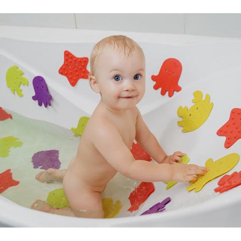 Антискользящие мини-коврики для ванны 12 шт.