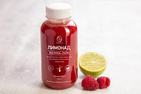 Лимонад малина - лайм