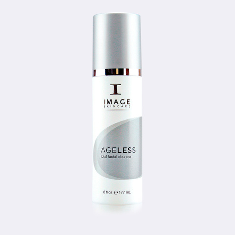 Очищающий гель с АНА Total Facial Cleanser, AGELESS, IMAGE, 177 мл.
