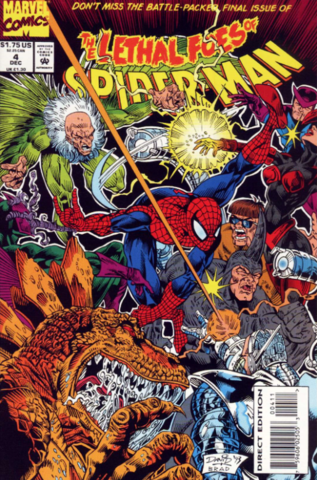 The Lethal Foes of Spider-Man #4 (of 4)
