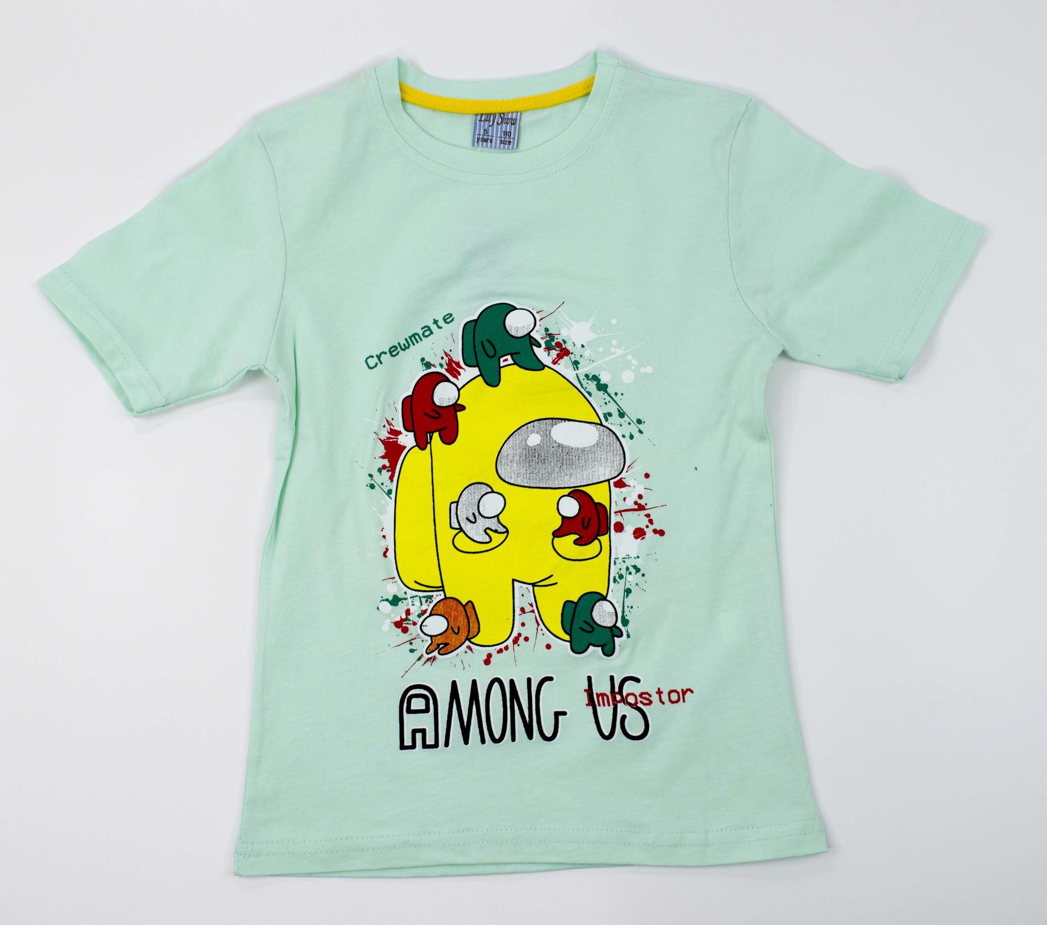 3221  футболка AMONG US Большой
