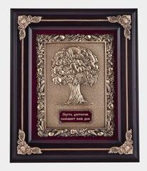 """Панно """"Древо изобилия"""" (дерево, цвет венге)"""