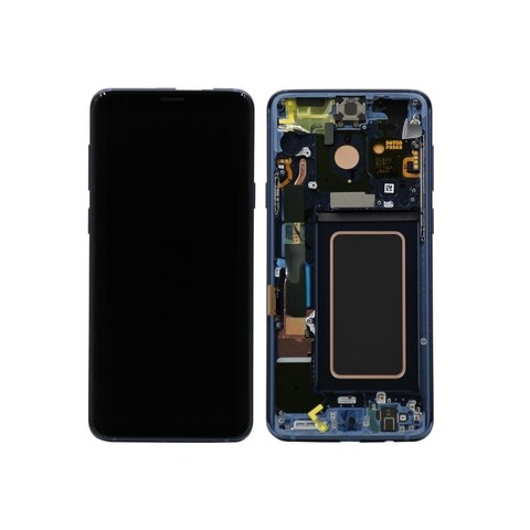 LCD SAMSUNG Galaxy S9 Plus G965F + Touch + Frame Blue Orig