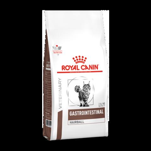 Royal Canin Gastro-Intestinal Hairball Сухой корм для кошек при нарушениях пищеварения, вызванного наличием волосяных комочков