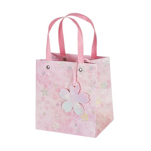 Пакет подарочный Pink 15*16*11 3