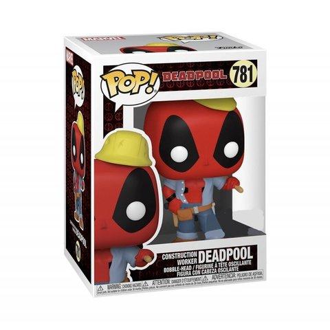 Deadpool 30th Construction Worker (Exc) Funko Pop! Vinyl Figure || Дэдпул Рабочий